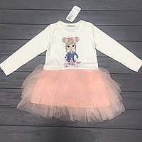 Детское нарядное платье BREEZE оптом р. 98 и 116