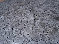Штампованный бетон, Декоративный бетон, Пресс бетон.