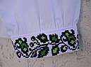Вышитая рубашка для девочки, с потайной застежкой, фото 3