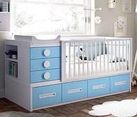 Детская кроватка-трансформер ИНСТ 1991