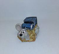 Копилка Мышь 10х12,5 см, Копилка мышь, подарок на Новый Год 2020, копилка символ Нового Года