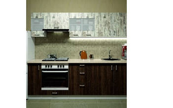 Кухня Еліс 2.4 м ДСП (Фенікс) КИЇВ