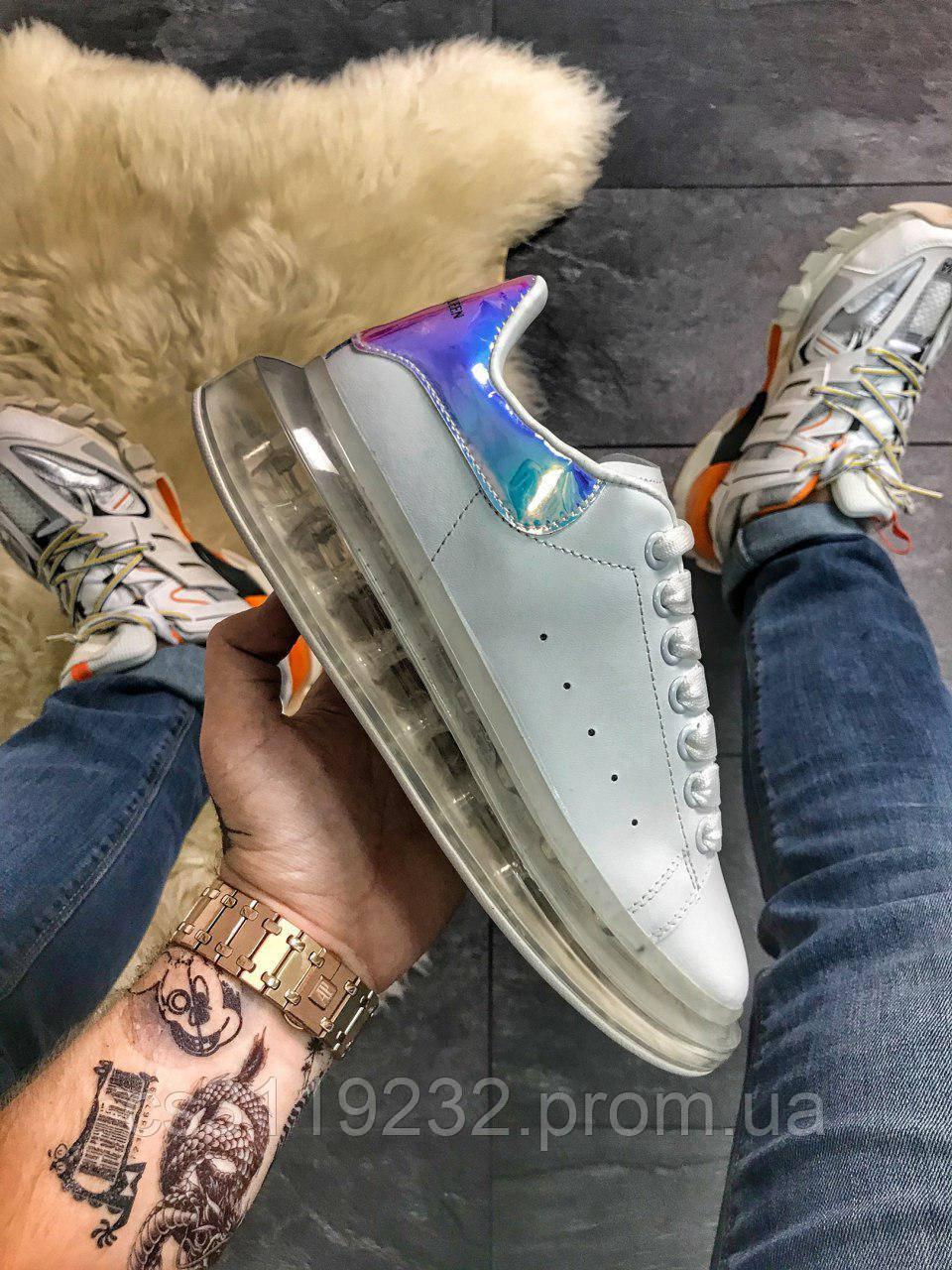 Жіночі кросівки Air Crystal Sole White Laser Multicolor (білі)