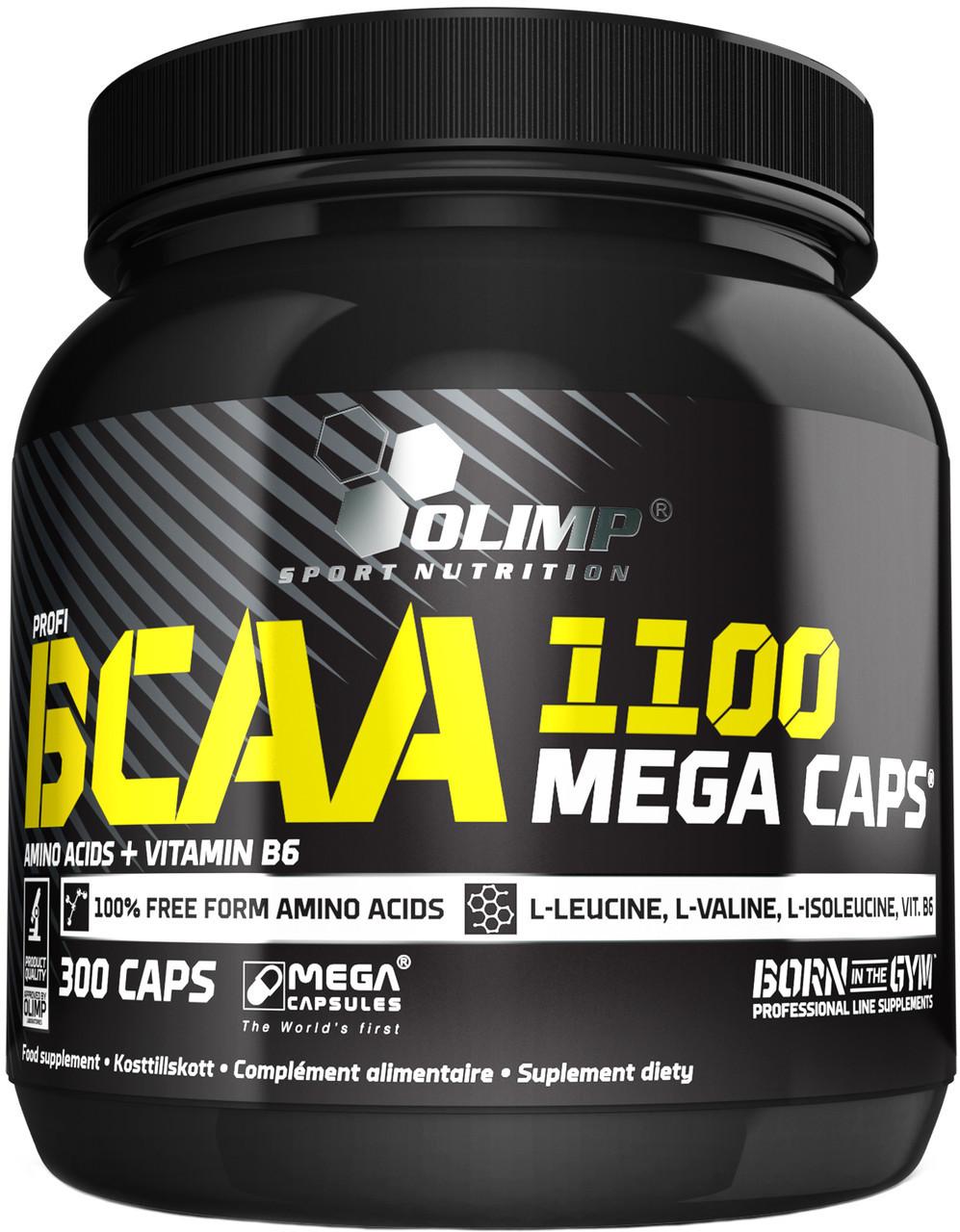 BCAA mega caps 1100 Olimp (300 капс.)