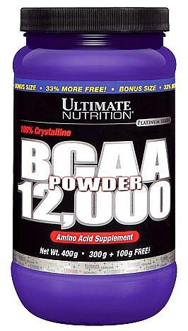 BCAA 12000 Powder Ultimate nutrition (457 гр.)