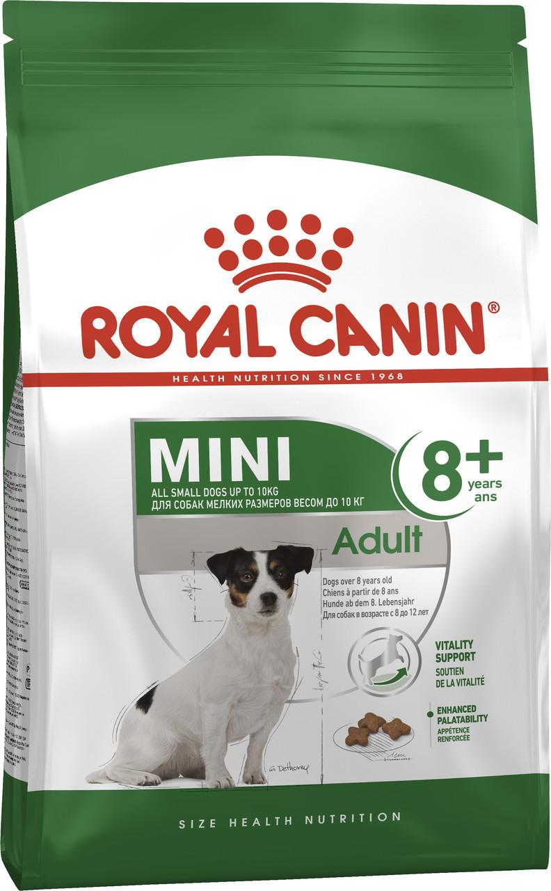Сухой корм для собак малых пород старше 8 лет Royal Canin Mini Adult 8+ 2 кг