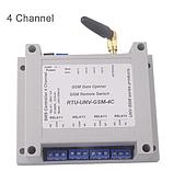 Четырехканальное GSM реле з SMS і Дзвінків(вимикач) UNV 5/6/9/12 Вольт, фото 3
