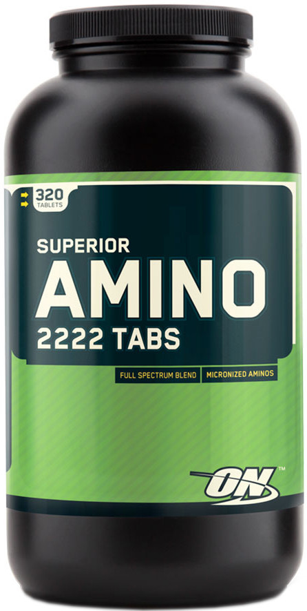Superior Amino 2222 Tabs Optimum Nutrition (320 таб.)