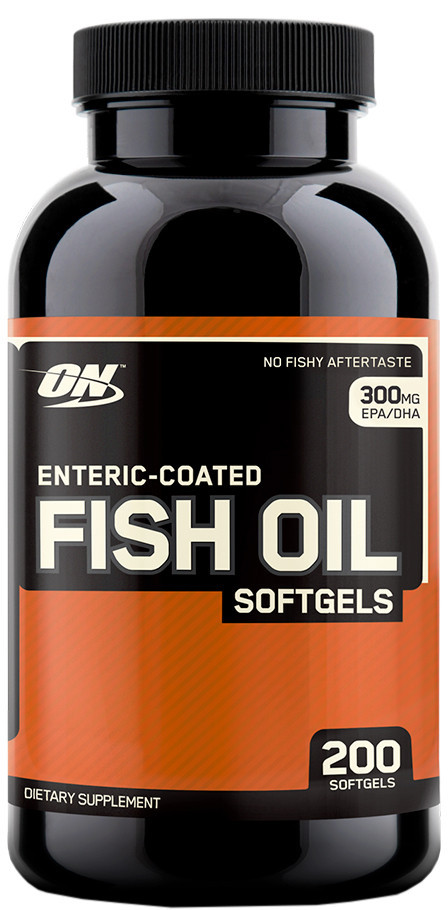 Fish Oil Softgels Optimum Nutrition (200 капс.)