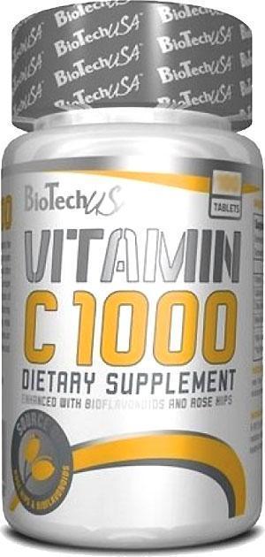 VITAMIN C 1000 BIOFLAVONOIDS BioTech (250 таб.)