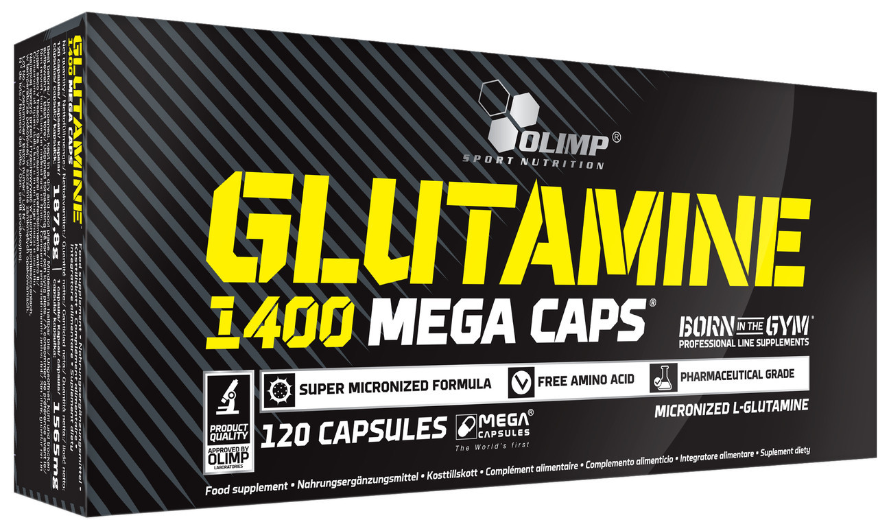 Glutamine Mega Caps 1400 Olimp (120 капс.)