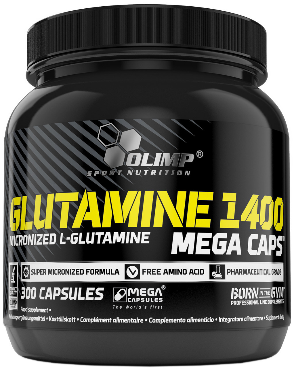 Glutamine Mega Caps 1400 Olimp (300 капс.)