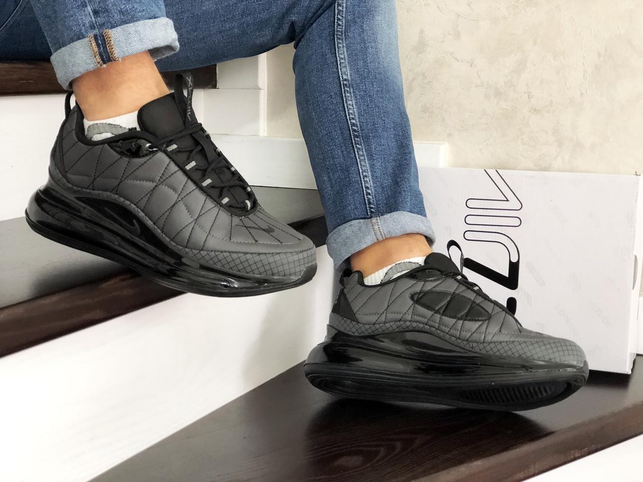 Утепленные кроссовки Nike серые, размеры 41-45