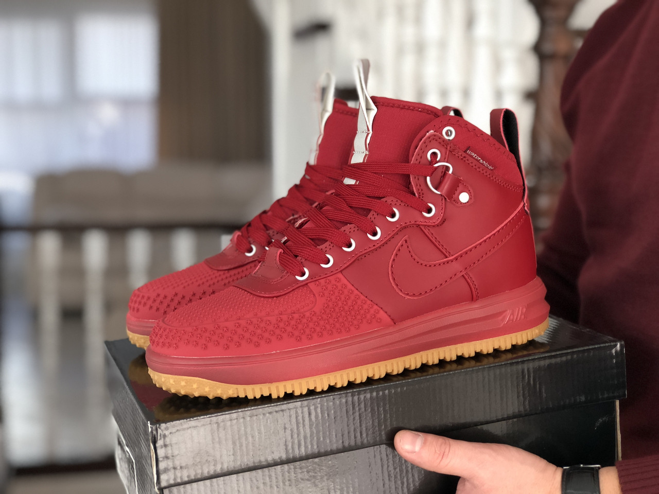 Кроссовки Nike Lunar Force 1 Duckboot, 41-46