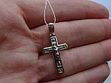 Классический золотой крест, фото 4
