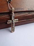 Классический золотой крест, фото 5