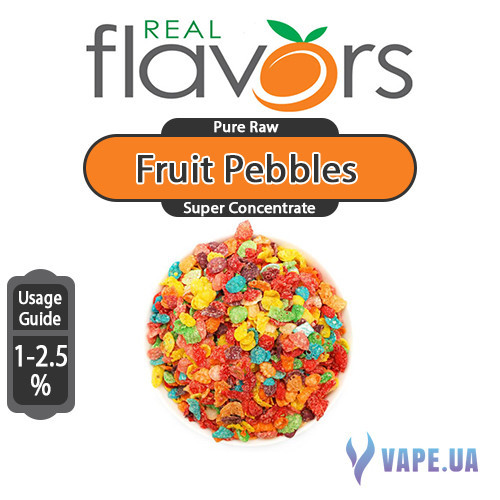 Ароматизатор Real Flavors Super Concentrate Fruit Pebbles (Фруктовые хлопья), 5 мл.