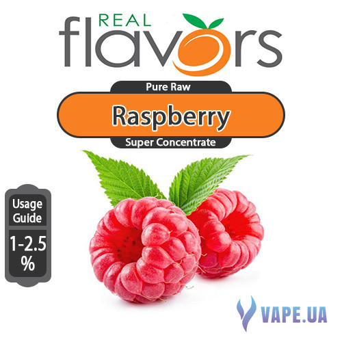 Ароматизатор Real Flavors Super Concentrate Raspberry (Малина), 5 мл.