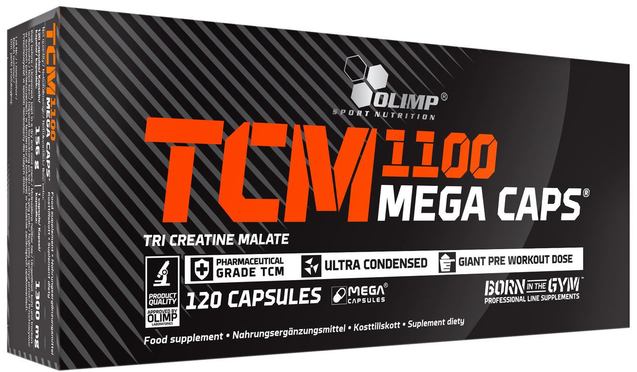 TCM Mega Caps 1100 Olimp (120 капс.)