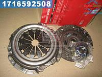 ⭐⭐⭐⭐⭐ Сцепление ВАЗ 2109 (диск нажимной+ведомый+подшник ) (производство  ОАТ-ВИС)  21090-160100000