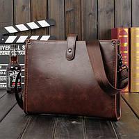 Мужская кожаная сумка-портфель. Модель 014, фото 1