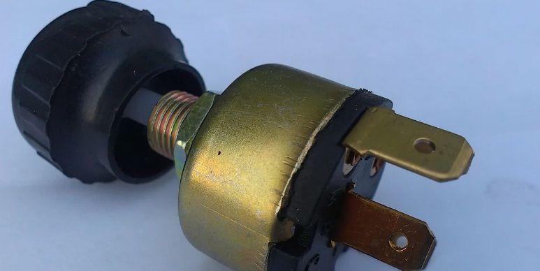 Переключатель скоростей вентилятора (круглый)