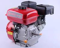 Двигатель бензиновый 168F - (под шпонку Ø19 мм, 6.5 л.с.) + Шкив