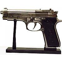 Газовая зажигалка настольный пистолет сувенирная