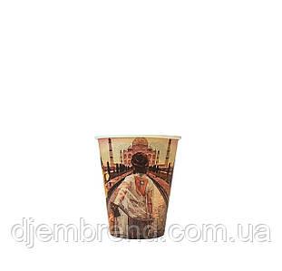 Бумажные стаканы города 175мл 50шт.уп (1ящ/54уп/2700шт)