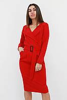 S (42-44) / Вишукане класичне жіноче плаття Mishell, червоний