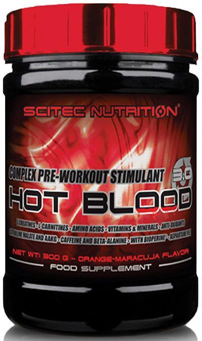 Hot Blood 3.0 Scitec Nutrition (300 гр.)