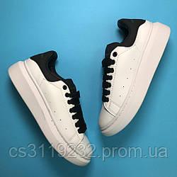 Женские кроссовки White Black (белые)