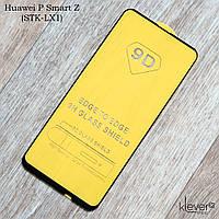 Защитное стекло 2,5D Full Glue для Huawei P Smart Z (STK-LX1) (черный) (клеится всей поверхностью)