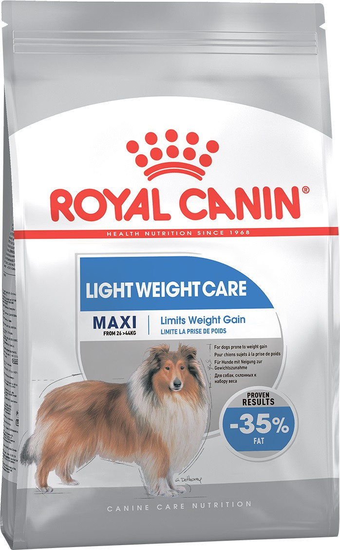 Сухой корм для крупных собак, склонных к полноте Royal Canin Maxi Light Weight Care 10 кг