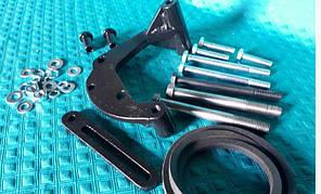 Кронштейн компрессора кондиционера трактора ХТЗ с двигателем Deutz (Дойц)