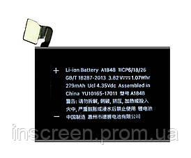 АКБ (Аккумулятор) Apple Watch 3 LTE 38mm A1848, 279 mAh