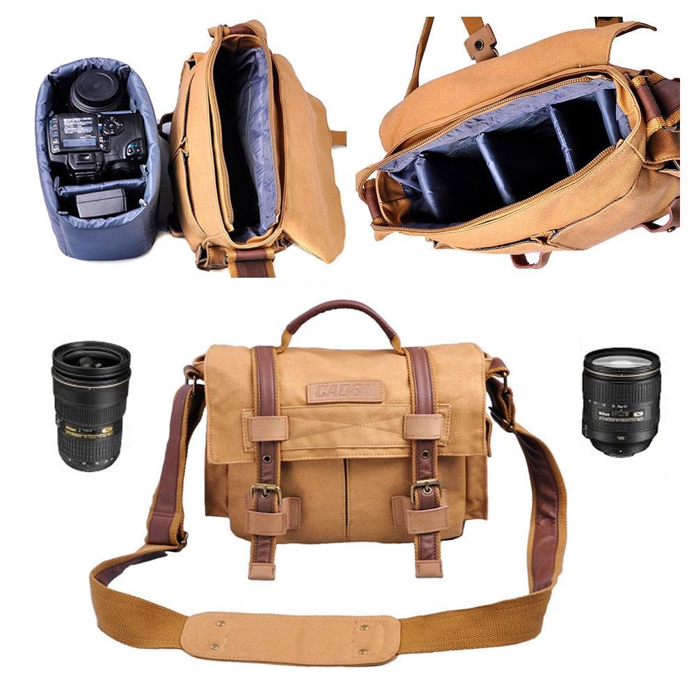 Сумка для фототехники Caden F3 Хаки