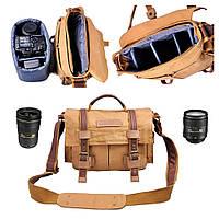 Сумка для фототехники Caden F3 Хаки, фото 1
