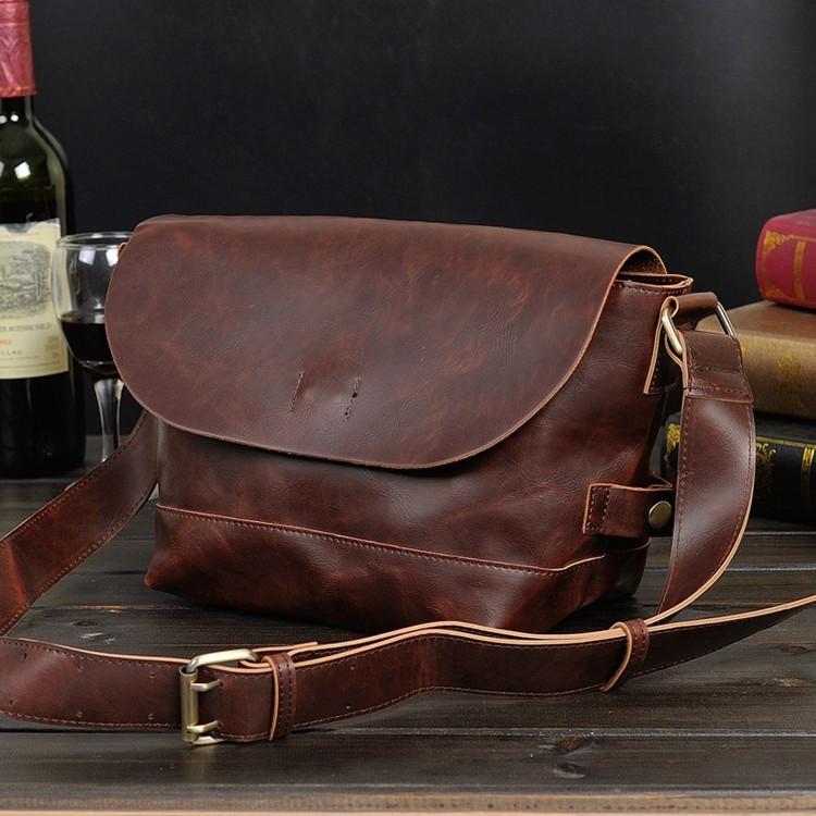 Мужская кожаная сумка. Модель с15