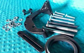 Кронштейн компресора кондиціонера трактора ХТЗ з двигуном ЯМЗ