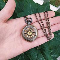 Карманные часы Крест в витраже