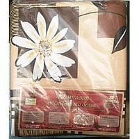 Молдавское двуспальное-макси постельное белье Бязь Tirotex - Ромашка