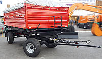 Прицеп 2ПТС-6,5 с тентом и надставными бортами Беларусь, Дрогичин, фото 1