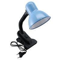 Лампа настольная на прищепке с клипсой креплением  Е27 220В