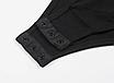Жіночий сексуальний мереживний боді з довгим рукавом, з відкритою спиною Macheda black, фото 6