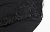 Жіночий сексуальний мереживний боді з довгим рукавом, з відкритою спиною Macheda black, фото 9