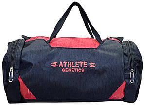 Сумка спортивная Fit Pack Athlete Genetics (Black-Red)