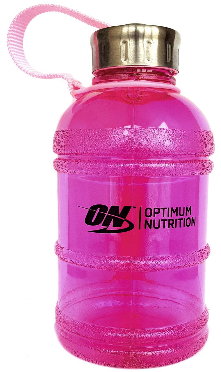 Бутылка Для Воды Gallon Hydrator Optimum Nutrition (1000 мл.) - Розовая