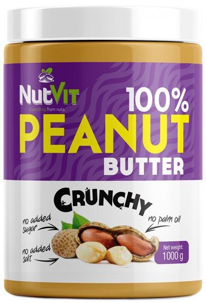 100% Peanut Butter NutVit (1000 гр.)