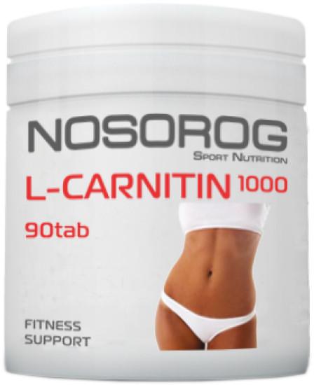 L-Carnitin 1000 Nosorog Sport Nutrition (90 таб.)